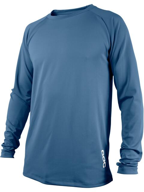 POC M's Resistance DH LS Jersey Cubane Blue